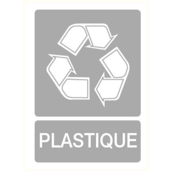 Pikt-o-Norm Pictogramme indication recyclage en plastique