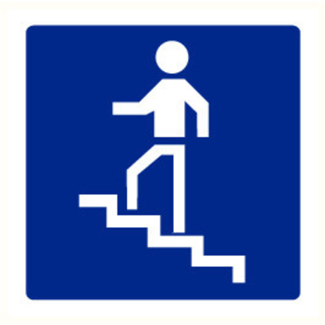 Pikt-o-Norm Pictogramme indication escaliers
