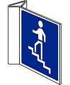 Pikt-o-Norm Pictogram indication stairs