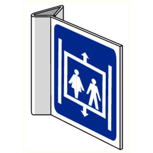 Pikt-o-Norm Pictogram aanwijzing lift