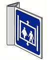 Pikt-o-Norm Pictogramme indication ascenseur