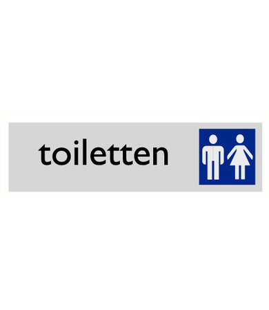 Pikt-o-Norm Pictogram text toilet ladiens and gents