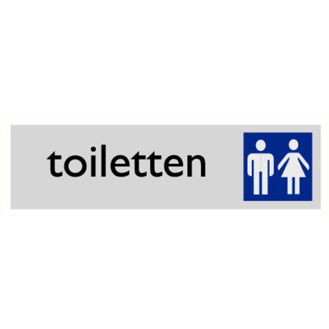 Pikt-o-Norm Pictogramme texte toilettes hommes et dames