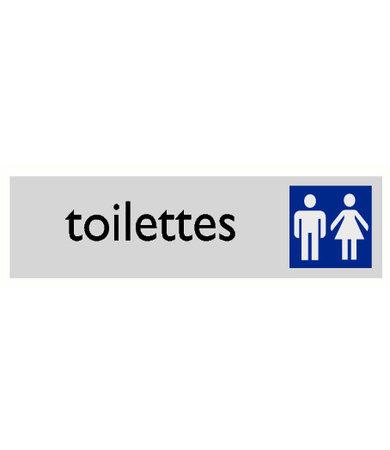Pikt-o-Norm Pictogram tekst toilet heren en dames