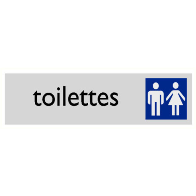 Pikt-o-Norm Pictogram tekst toilet heren en dames