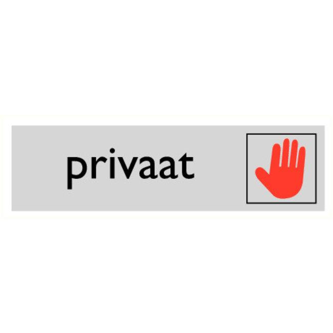 Pikt-o-Norm Pictogramme texte privé