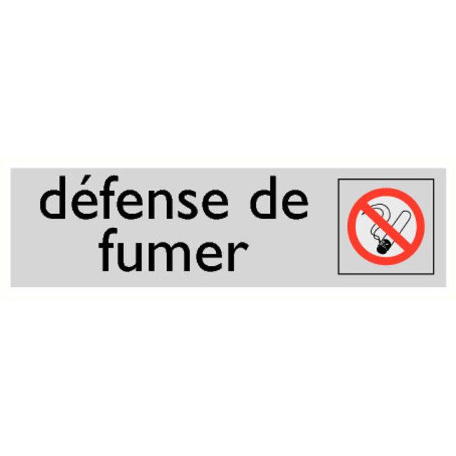 Pikt-o-Norm Pictogramme texte interdiction de fumer