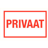 Pictogram text private