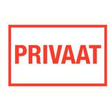 Pictogramme texte privé