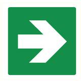 Pictogramme flèche vert