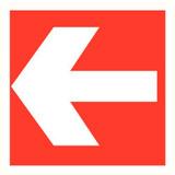 Pictogram arrow red