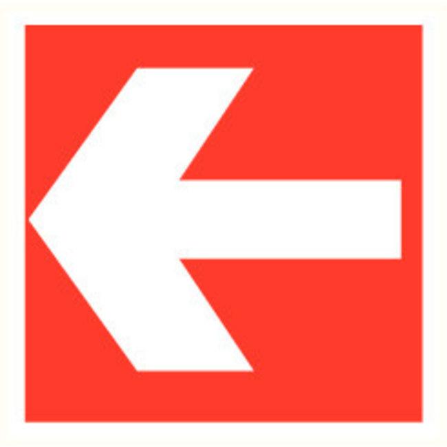 Pikt-o-Norm Pictogramme flèche rouge