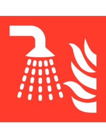 Pikt-o-Norm Pictogram sprinkler