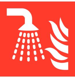 Pictogram sprinkler