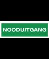 Pikt-o-Norm Pictogramme sortie d'urgence texte néerlandais