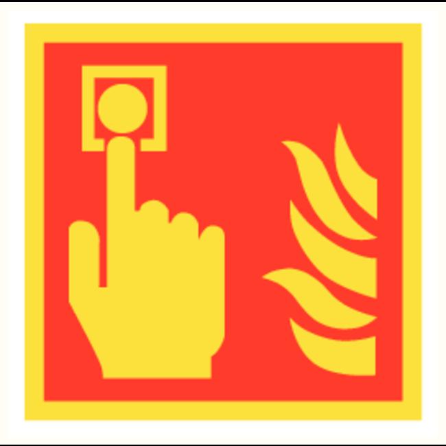 Pikt-o-Norm Pictogramme point d'alarme incendie