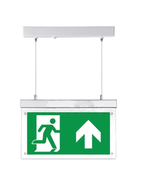 FireDiscounter Emergency lighting board LED with direction labels