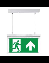 FireDiscounter Noodverlichtingsbord LED met richtingslabels