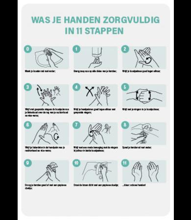 FireDiscounter Instructies handhygiene A4