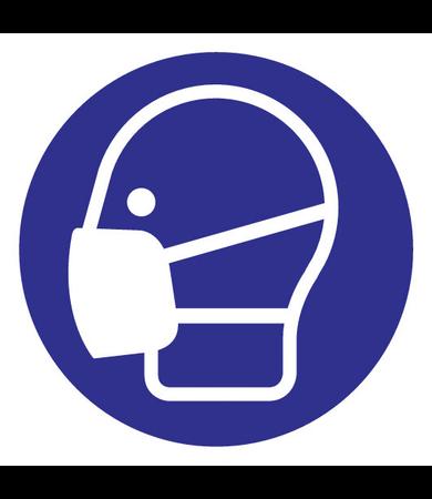 FireDiscounter Gebodsteken mondmasker verplicht
