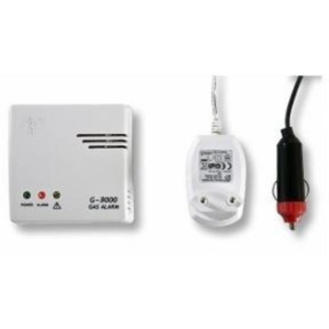 FITO Détecteur de gaz FITO 230V / 12V avec prise