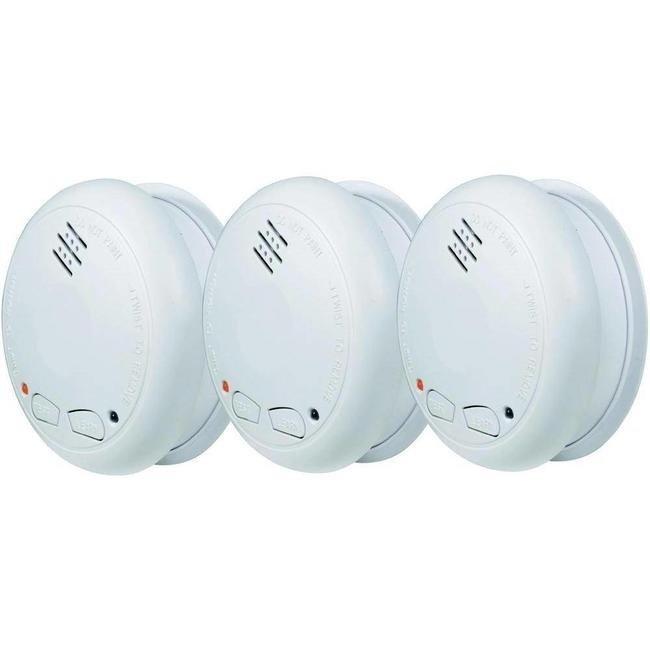 Alecto 3 détecteurs de fumée connectables Alecto