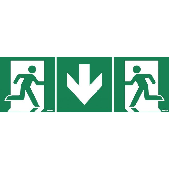Zemper Zemper pictogram nooduitgang modulair