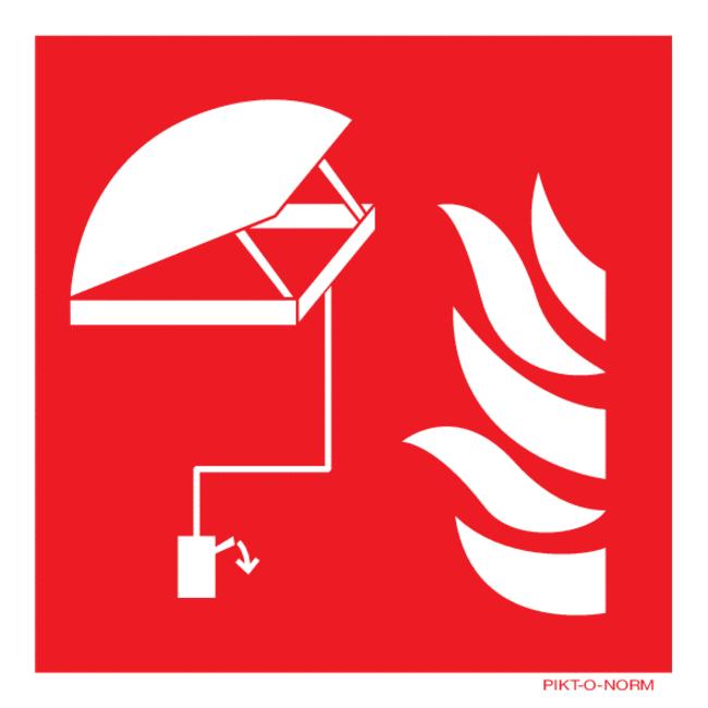 Pikt-o-Norm pictogramme trappe à fumée