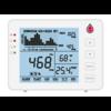 FireDiscounter Compteur de CO2 AirCare avec batterie et capteur de température et d'humidité