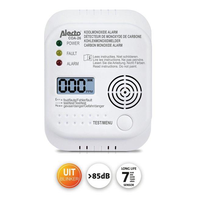 Alecto Alecto détecteur de monoxyde de carbone