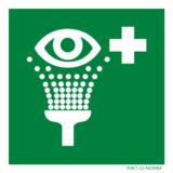 Pictogramme de sécurité rinçage des yeux
