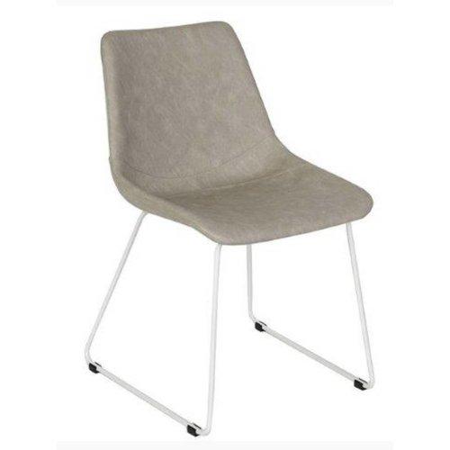 LOVY stoel/ stalen slede onderstel/ STEL UW EIGEN STOEL SAMEN!