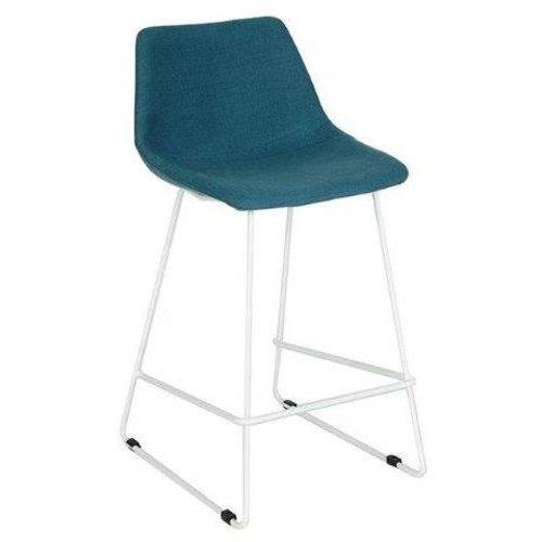 LOVY bar-counterstoel/ stalen slede onderstel/ STEL UW EIGEN STOEL SAMEN!