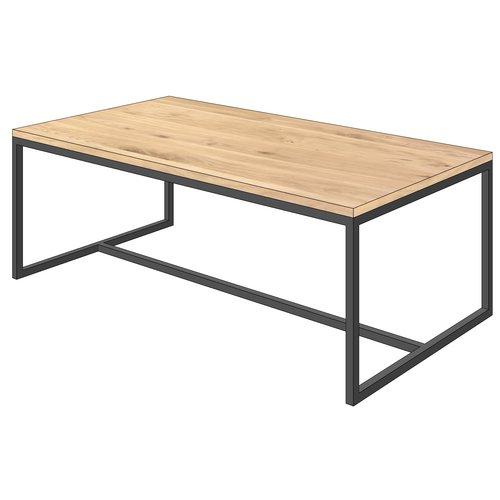 'Stockholm' industriële salontafel  open structuur