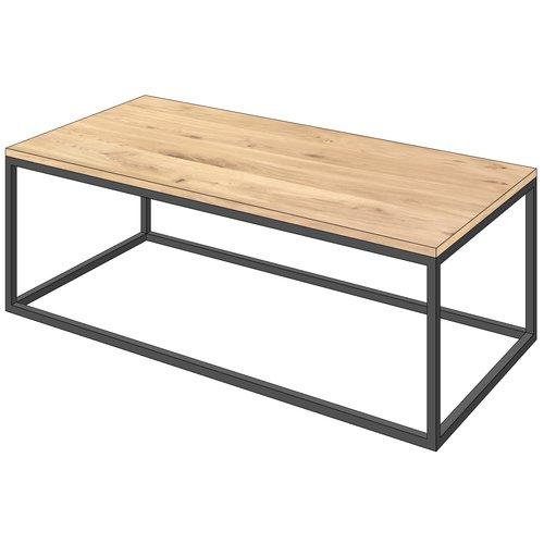 'STOCKHOLM' onze Scandinavische eiken salontafels op een stalen frame KIES HIER UW FRAME & KLEUR BLAD