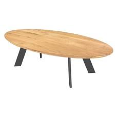 'Florence' ellipsvormige salontafel hoekpoot Gerard