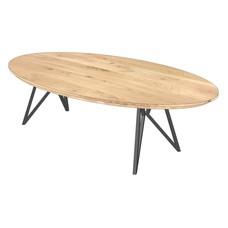 'FLORENCE' onze ellips-vormige salontafels KIES HIER UW ONDERSTEL & KLEUR BLAD
