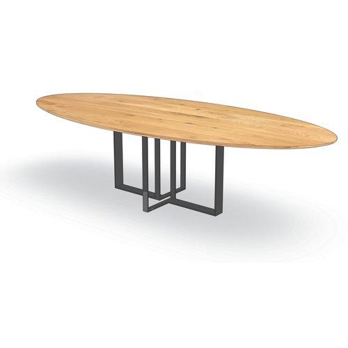 'Florence' ellipsvormige tafel met centrale MENNO poot