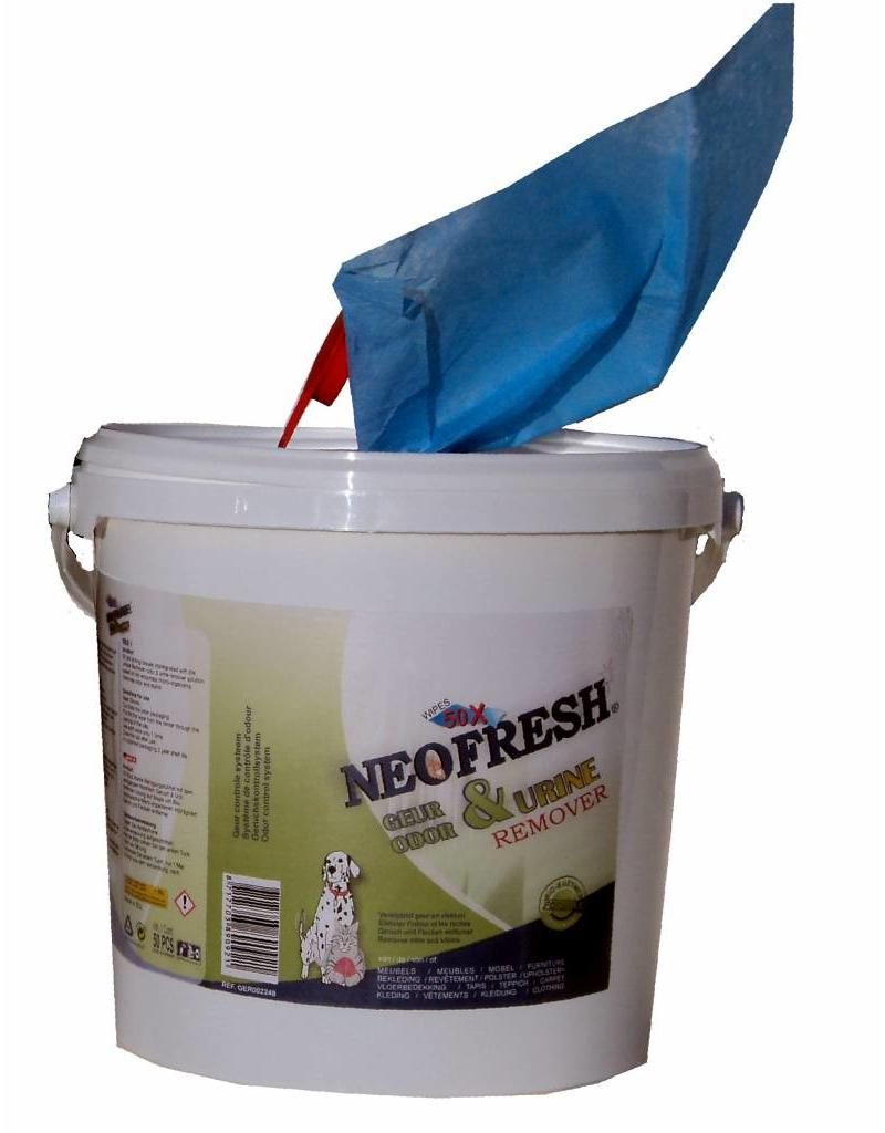 Neofresh Odor & Urine Remover Wipes BIG 2x100st