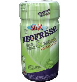 Neofresh Geur & Urine Remover Wipes 12X 50 CPS