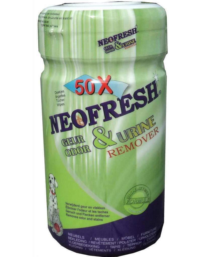 Neofresh dieren verblijfreiniger Wipes 12X 50 CPS