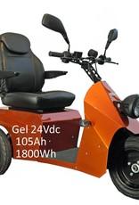 INCA Neon scootmobiel max 35 km/u