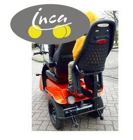 INCA Neon met kinderzitje achter