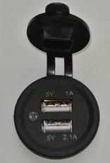 INCA USB poort voor zelfinbouw 1A en 2,1A