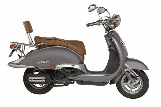 ZNEN Achtervelg voor retro scooter