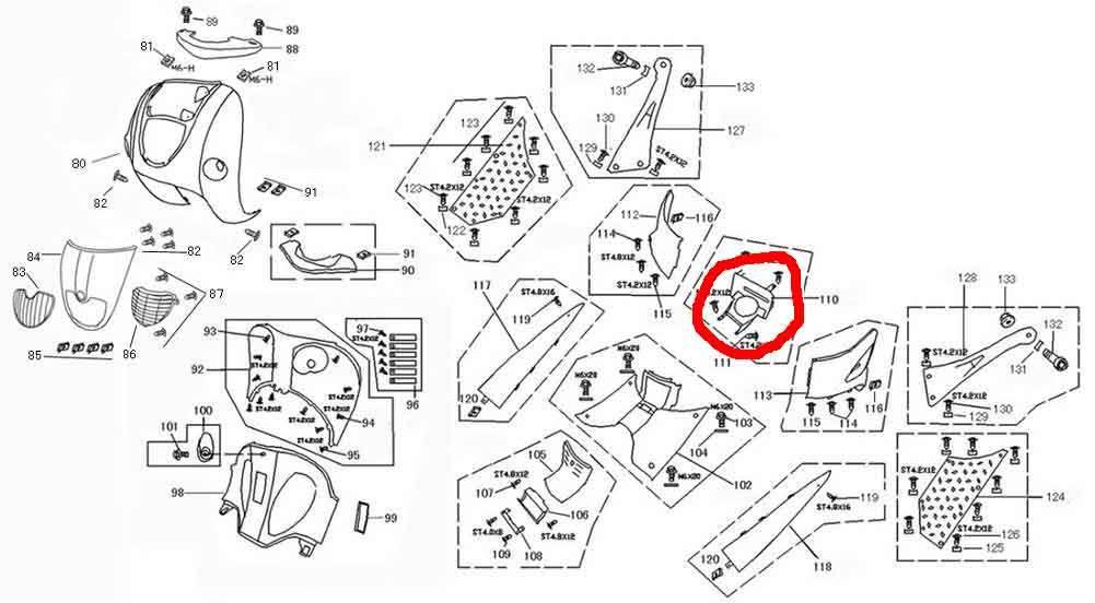 ZNEN Plaat benzinetankopening Retro scooter
