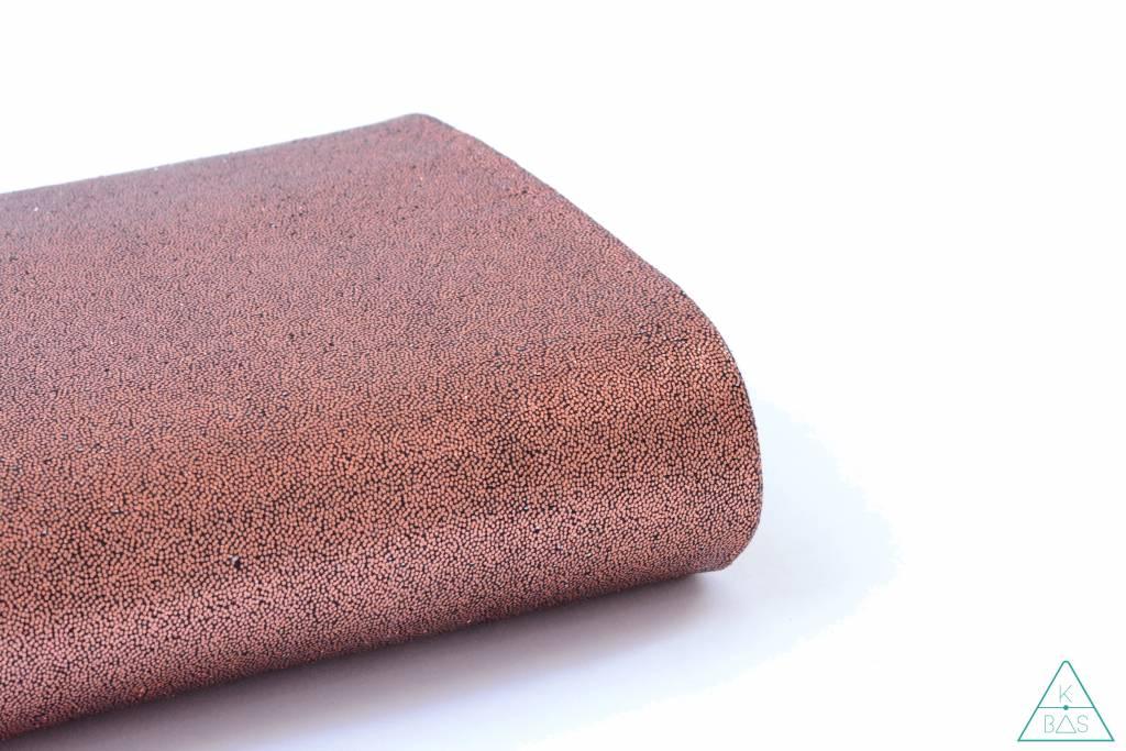 ALFrances Handwaxed metallic linnen,  Donker koper