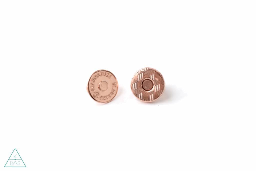 Emmaline Bags Dunne magneetsluiting Rosé Goud 14mm