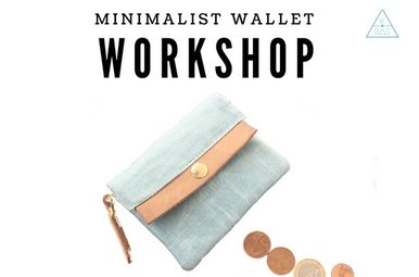 Workshop Minimalist Wallet 24/1/2019