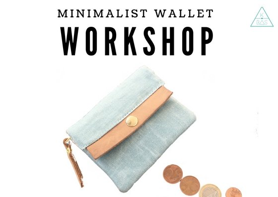 k-bas Workshop Minimalist Wallet 24/1/2019